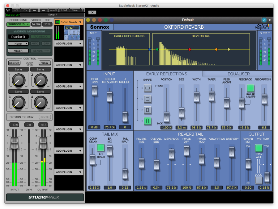 Sonnox today released their first 3 Soundgrid Plug-Ins Oxford EQ, Dynamics and Reverb.